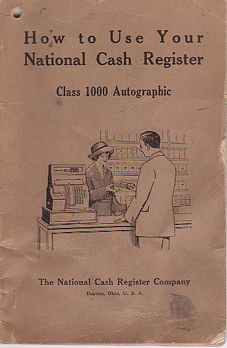 casio register manual